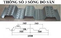 Sàn Deck H50W1000 Biên dạng 2