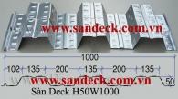 SÀN DECK H50W1000